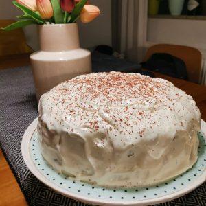 Choco red velvet torta