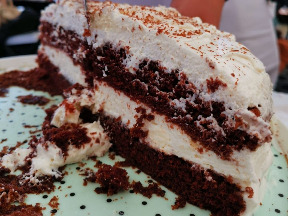 red velvet torta