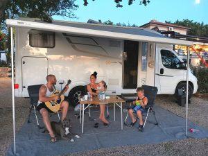 kampiranje u hrvatskoj